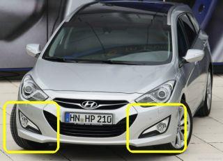 2012 2013 Hyundai I40 Saloon Tourer Fog Light Lamp Assy Wiring Harness Kit