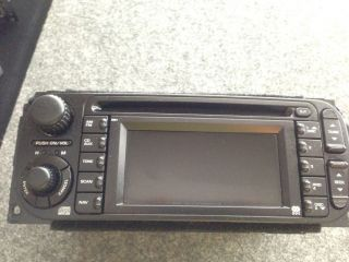 03 07 Chrysler Dodge Sebring PT Cruiser Town and Country GPS Radio