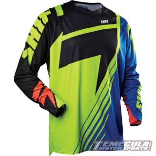 2013 Shift Racing Reed A1 Faction Le Jersey Pant MX Motorcross Gear Combo BL Yel