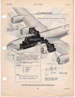 Boeing B 29 Superfortress Aircraft Maintenance Service Manual RARE Details WW2