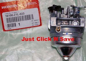 16100 Z0L 782 BB62F B Honda GCV160 Engine Carburetor Gaskets 16100 Z0L 781