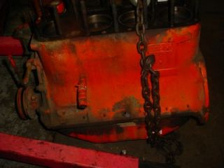 WD45 Allis Chalmers Tractor Working Engine Short Block Motor AC WD45