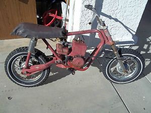 Rupp Mini Bike Taco Chaparral Bonanza Trail Chibi