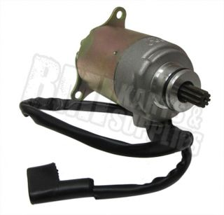 Starter Motor for Yerf Dog Spiderbox GX150 Go Kart Cart GY6 150cc Engine