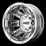 16 inch Chrome Wheels Rims Dodge RAM 3500 Chevy Silverado GMC Truck Dually 8x6 5