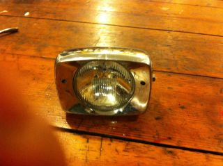 Rupp Minibike Vintage Original Headlight Bucket Bulb Mini Bike Part Honda WOW