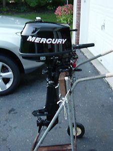 Mercury Outboard 2010 4 HP 4 Stroke Short Shaft
