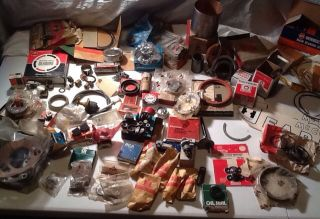 Lot New Old Stock International Harvester Case Delco Tractor Truck Parts Mix