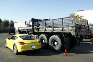 M931A2 Restored 5 Ton Monster Military 6x6 Cargo Truck Cummins Turbo Diesel Auto
