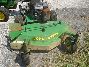 Used John Deere 48 inch Walk Behind Mower Kawasaki Engine Gear Drive