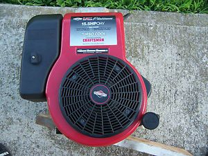 Briggs Stratton 15 5 HP I C Platinum w Turbo Cool Vertical Shaft Engine