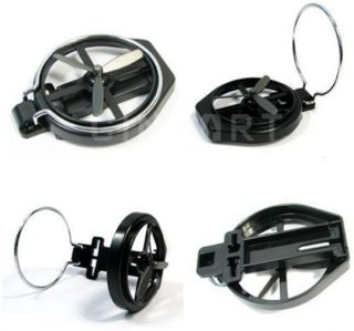 Foldable Auto Car Cup Drink Holder Stand Clip Fan New