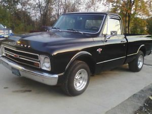 1967 Chevy C 10 Short Bed 396 Big Block BBC Shop Truck Solid Driver