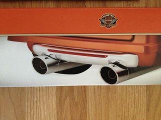 Harley Davidson Tri Glide Chrome Rear Fascia Trike Chrome Bumper 84023 11