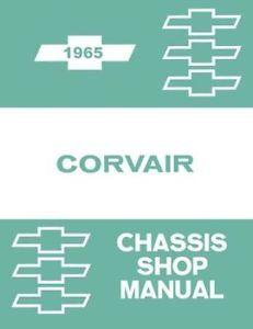 1965 Chevrolet Corvair Shop Service Repair Manual Engine Drivetrain Electrical