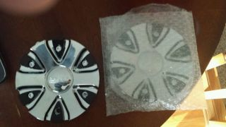 2 Akuza 712 Truck Cap Big Papi Wheel Center Caps Brand New Comes with Screws