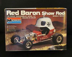 Monogram Red Baron Show Rod Car Model Kit