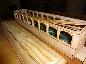 G Scale Passenger Cars Scratch Build Kit Cars