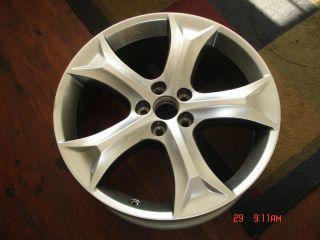 Toyota Venza 20x7 5 Factory Hyper Silver Alloy Wheel Rim 69558