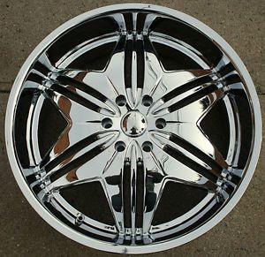 24 Chrome Rims: Wheels, Tires & Parts