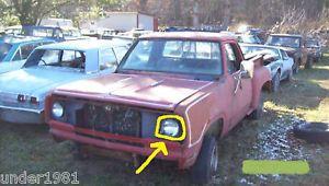 1978 Red Dodge Warlock Power Wagon Truck Headlight Project Part 4x4 Junkyard