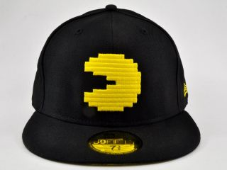 Pacman Basic New Era 59Fifty Fitted Cap Hat