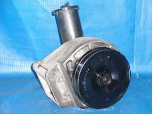 1983 1993 Ford Mustang Power Steering Pump w Bracket Pulley 5 0L 302 V8 GT LX