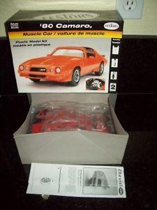 Testors 1980 Chevrolet Camro Car Model Kit