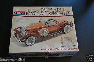 Monogram Classic Packard Boattail Speedster Model Car Kit