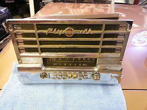 1949 1950 Plymouth Radio Dash Trim Bezel Speaker Grill Cover