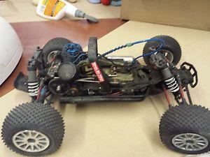 Traxxas Nitro Sport Remote Starter Kit RC Team Losi Buggy Whole Kit w Tools Car