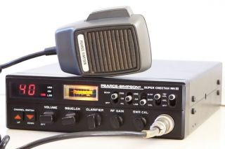 Pearce Simpson Super Cheetah mkiii Am SSB CB Radio 4WD