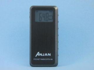 Anjan DTS 04 FM MW Stereo Digital Pocket Radio Receiver