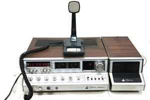Cobra 2000GTL Base Station CB Radio w Speaker and Microphone