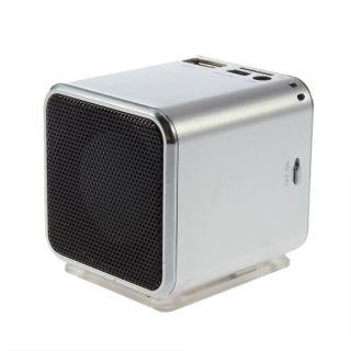Mini Digital Portable Music  Player USB Speaker FM Radio USB Disk Micro SD TF