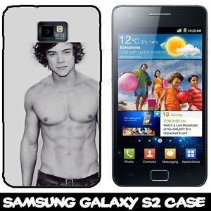 Harry Styles One Direction Samsung Galaxy S2 Covers Hard Plastic Case Covers