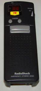 Radio Shack Portable Hand Held Emergency 40 Channel CB Radio TRC 401
