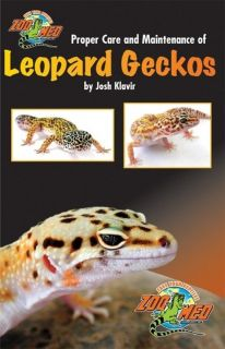 Zoo Med's Beginner's Guide to Proper Care of Leopard Geckos Book Zoo Med ZB 50