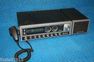 President Dwight D CB Radio Base Station Transceiver Radio Speaker Microphone