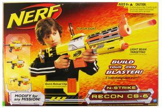 Nerf N Strike Recon CS 6 Sniper Dart Gun