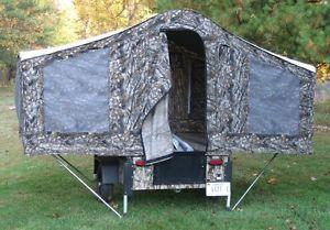 Deer Hunting Bow camper RV Pop Up Camo