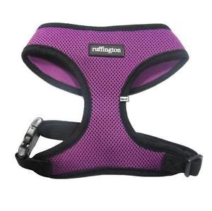 ★soft Mesh Harness Pet Cat Dog Rabbit Pig Puppy Puppia Fashion Harness Purple★