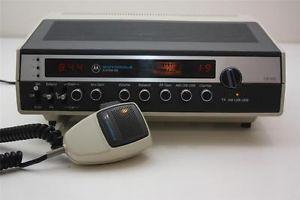 Vintage Motorola CB 555 System 500 Base Station CB Radio
