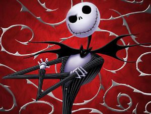 Jack Skellington Nightmare Before Christmas Edible Image Cake Topper Decoration
