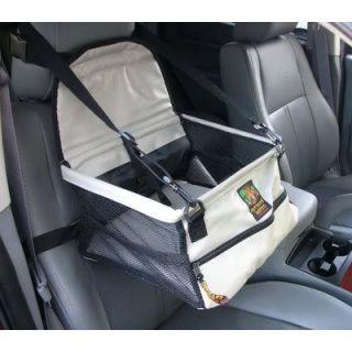 Kyjen Outward Hound Dog Car Booster Seat Folds Flat Gray Or Black