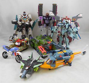 Hasbro Transformers Armada Energon Cybertron Figure Lot Sentinel Prime Megatron