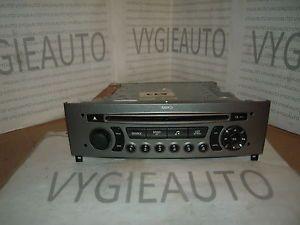Peugeot 308 Stereo Radio  CD Player Siemens VDO RD4N2 96650206 XH 00
