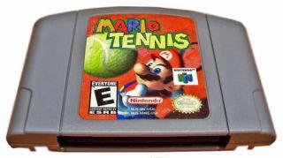 Mario Tennis Cartridge N64 Nintendo 64 Video Game