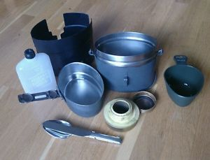 Swedish Army Mess Kit Stainless Steel