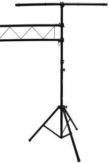 DJ Band Portable Light Truss Fixture Tripod T Bar Lighting Stands 10ft Trussing